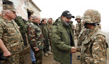 Pashinyan visits northern border of Artsakh
