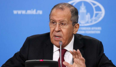 Sergey Lavrov holds press conference in Moscow