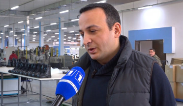 Artsakh produces boots for Armenian soldiers