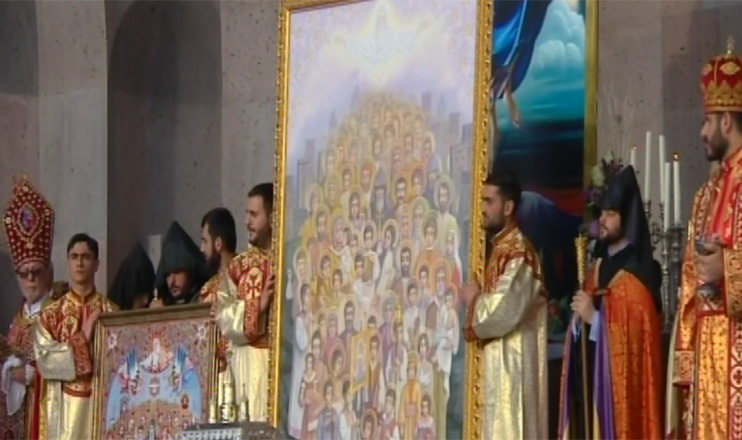 Sanctification in the Open Tabernacle of Mother See of Holy Etchmiadzin