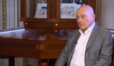 The Interview with Vladimir Posner at Armenian Public Television
