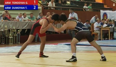 Wrestling: Stepan Sargsyan's Cup Part II