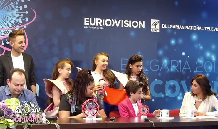 Junior Eurovision Song Contest 2015: Diary