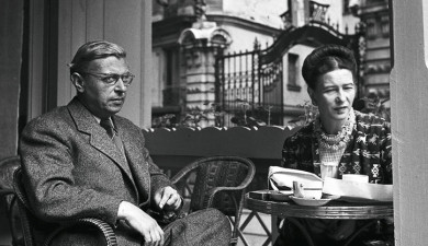 French existentialist Jean-Paul Sartre