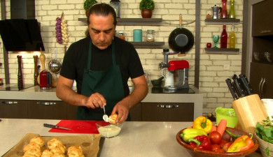Let's Cook Together: Profiteroles with Cheese Filling