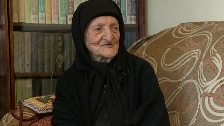 100-year-old Grandma Siranush