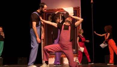 Curtains: The Comedy of Pyramus and Thisbe