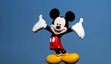 Mickey Mouse is 91