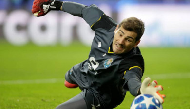 Spanish Goalkeeper Iker Casillas Fernández