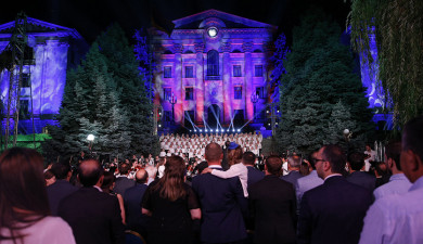 Yerevan Youth Symphony Orchestra Concert in National Assembly Garden