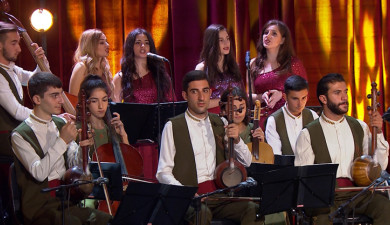 Canticle of Canticles: Narekatsi Folk Instruments Ensemble
