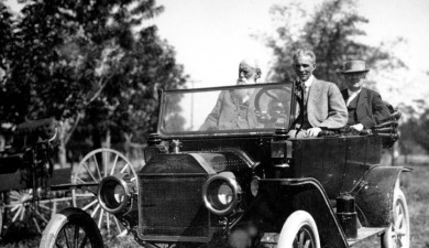 Henry Ford turned car to practical transport