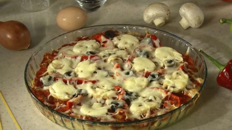 Let's Cook Together: Spaghetti Pizza