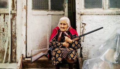 Story of a Photo: Musketeer Grandmas