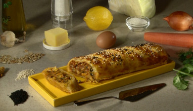 Let's Cook Together: Vegetable Strudel