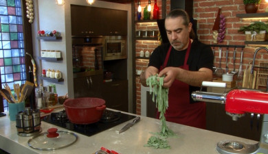 Let's Cook Together: Spinach Pasta